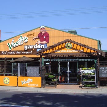Vasili S Garden Cafe Menu