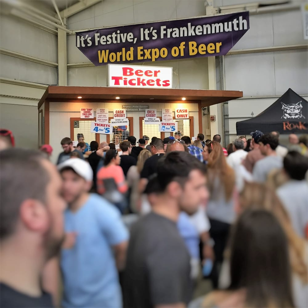 World Expo of Beer: 601 Weiss St, Frankenmuth, MI