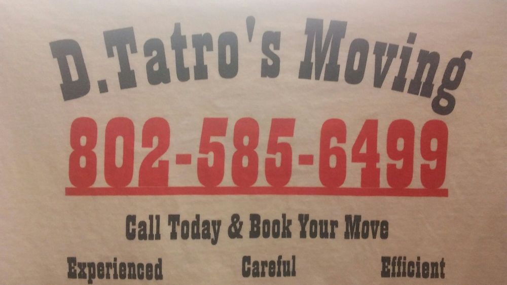 D Tatros Moving: Morrisville, VT