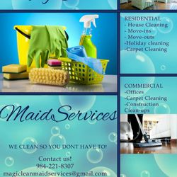 Photo Of Magiclean Maid Services Raleigh Nc United States