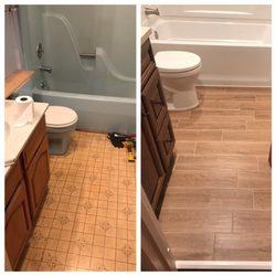 A B Graham Contracting Photos Contractors Somerton - Bathroom renovation philadelphia