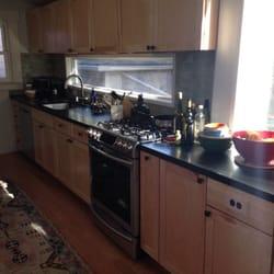 Photo Of Kitchensync   Berkeley, CA, United States. Shaker Maple Cabinets  And Black