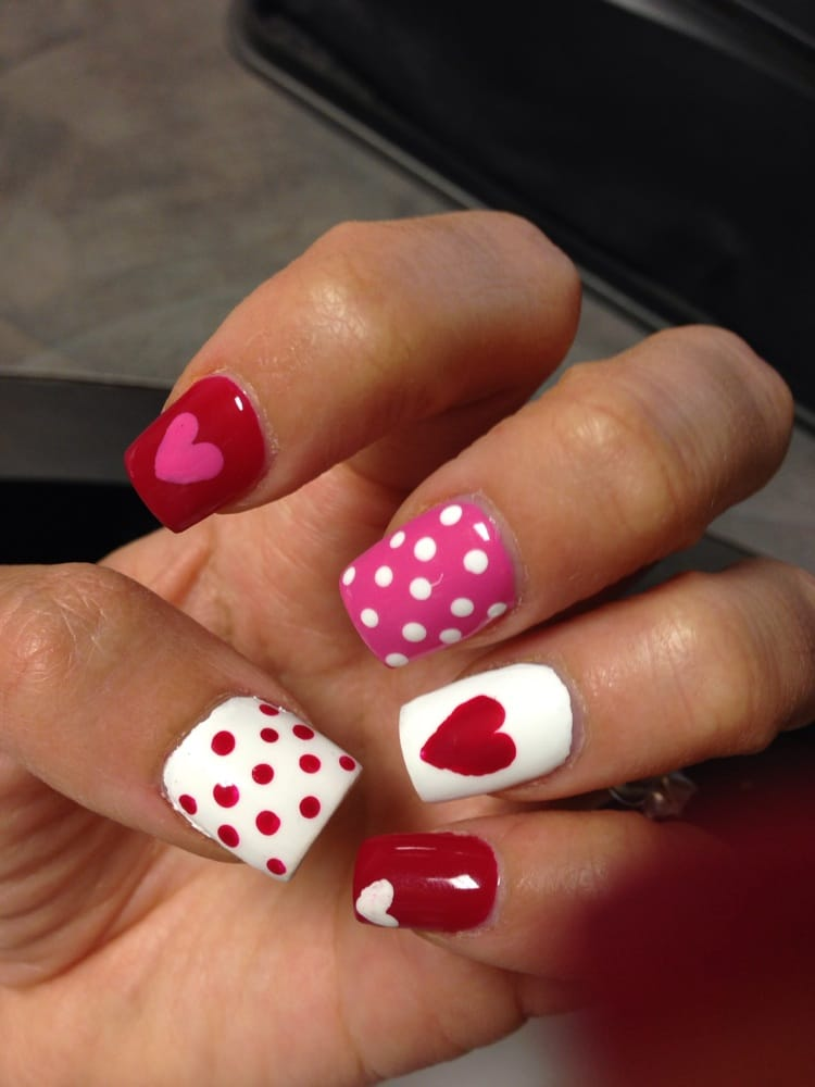 My Queen Of Hearts Nails - Yelp