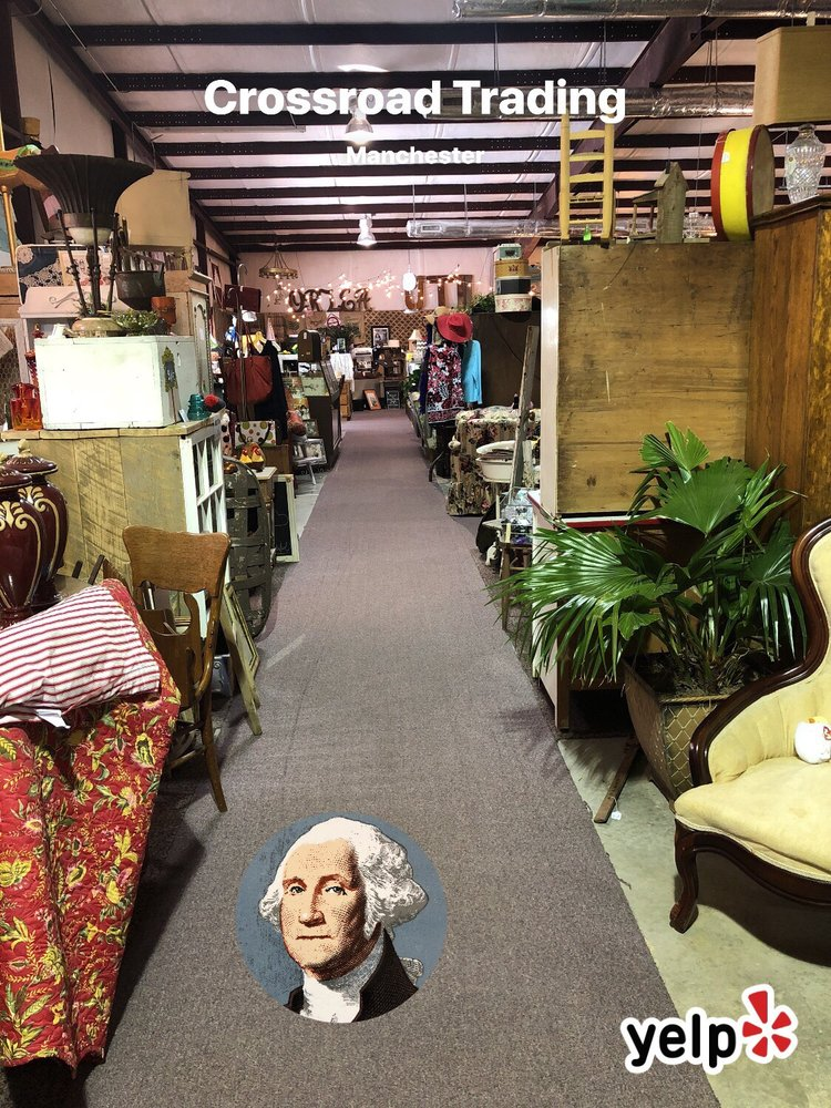 Crossroad Trading/Antique Mall: 410 Woodbury Hwy, Manchester, TN