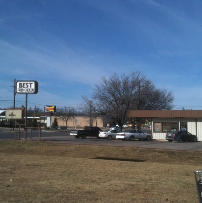 Best Fried Chicken: 2301 S Commercial Ave, Coleman, TX