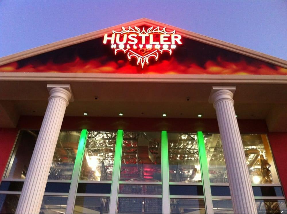 Hustler de Hollywood en la tienda