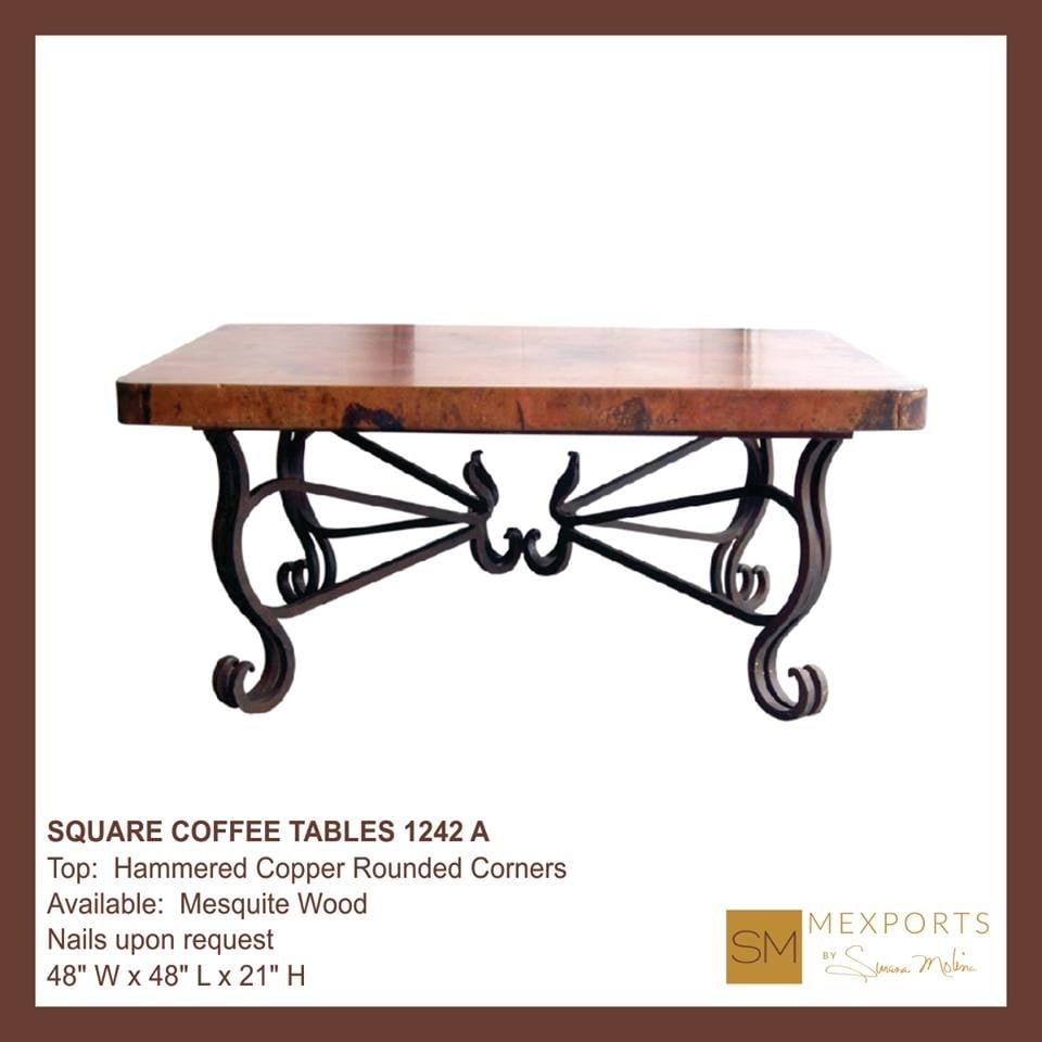 Another base from our selection for square coffee tables - Susana molina ...