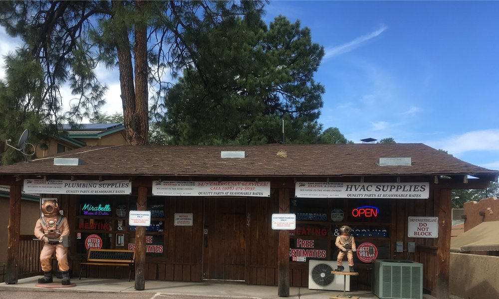 George Henry Plumbing Heating and Cooling: 204 S Beeline Hwy, Payson, AZ