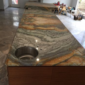 Photo Of Amazon Stones   San Diego, CA, United States. Kitchen Island