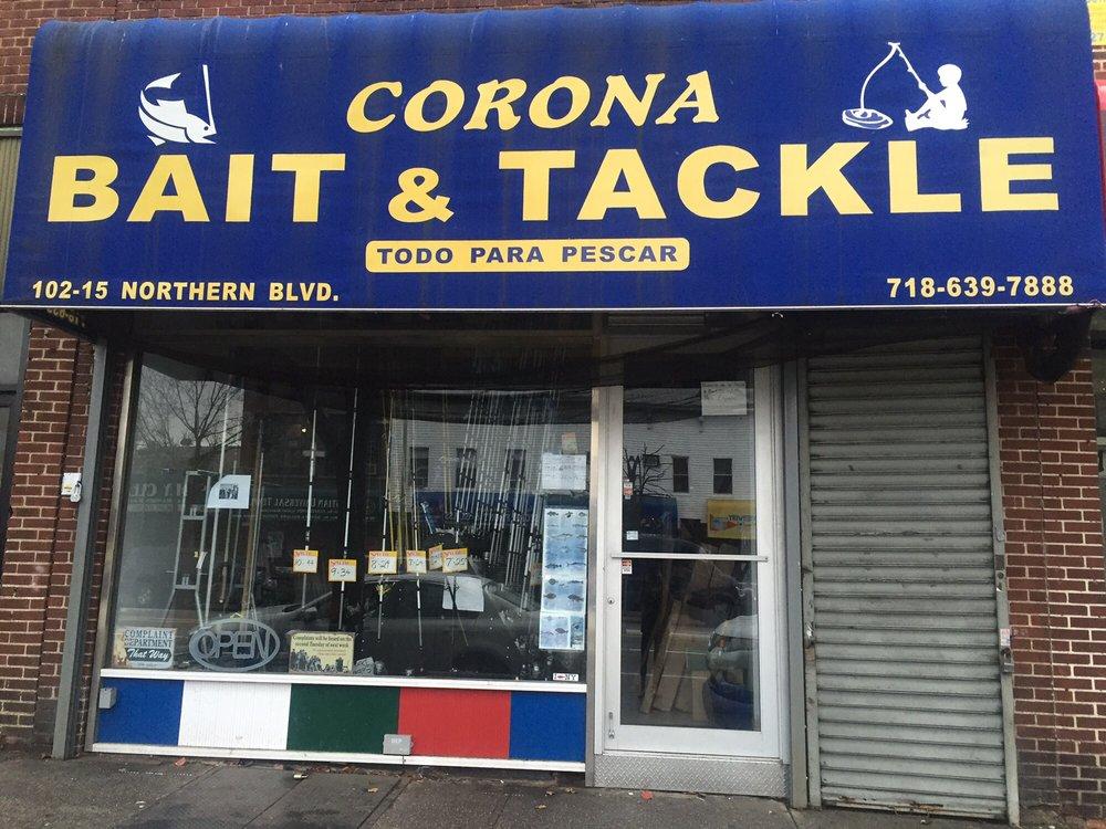 Corona Bait and Tackle: 102-15 Northern Blvd, New York, NY