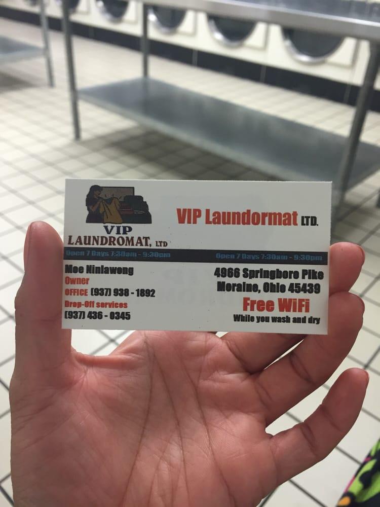 VIP Laundromat: 4966 Springboro Pike, Moraine, OH