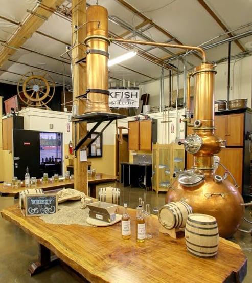 Blackfish Spirits Distillery: 420 37th St NW, Auburn, WA