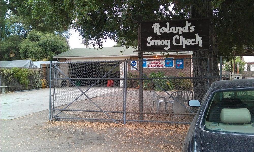 Roland's Smog Check: 829 W El Roblar Dr, Ojai, CA