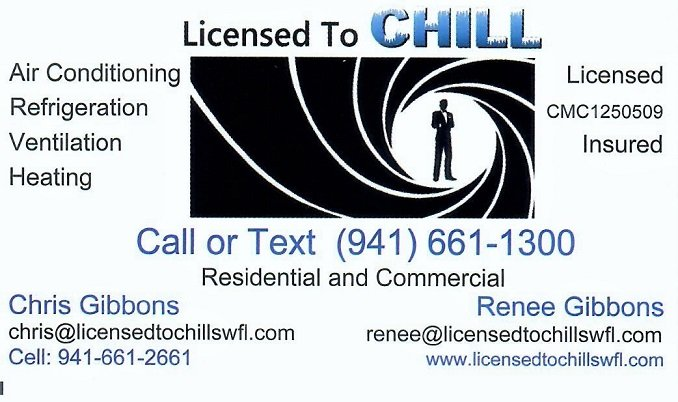 Licensed to Chill SWFL