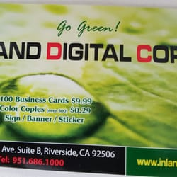 Top 10 Best Business Cards In Riverside Ca Last Updated February