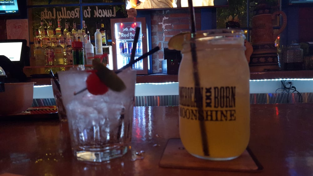 Moscow Mule And A Hendricks Gin Amp Tonic Yelp