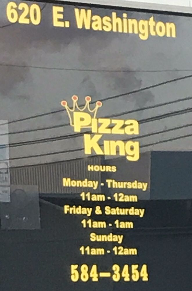 Pizza King: 620 E Washington St, Winchester, IN