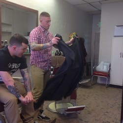 Barber Shop Denver : Ollies Barber Shop - Denver, CO, United States. Matts all cleaned u...