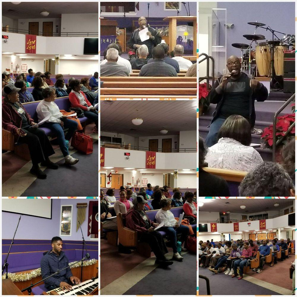 Tabernacle Baptist Church: 150 E 2nd St, Burlington, NJ