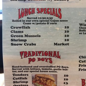 Photo Of Clawdad S Seafood Boil Winchester Va United States Lunch Specials