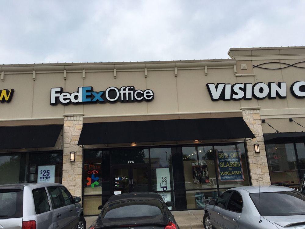 FedEx Office Print & Ship Center: 425 E Pleasant Run Rd, Cedar Hill, TX
