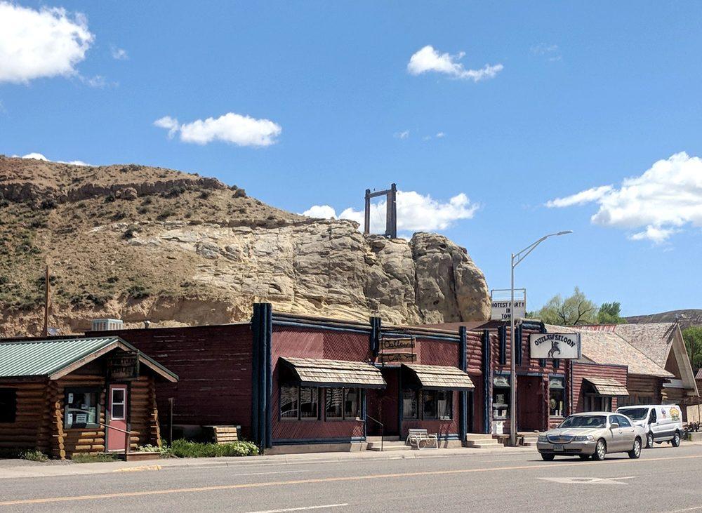 Outlaw Saloon: 204 W Ramshorn St, Dubois, WY