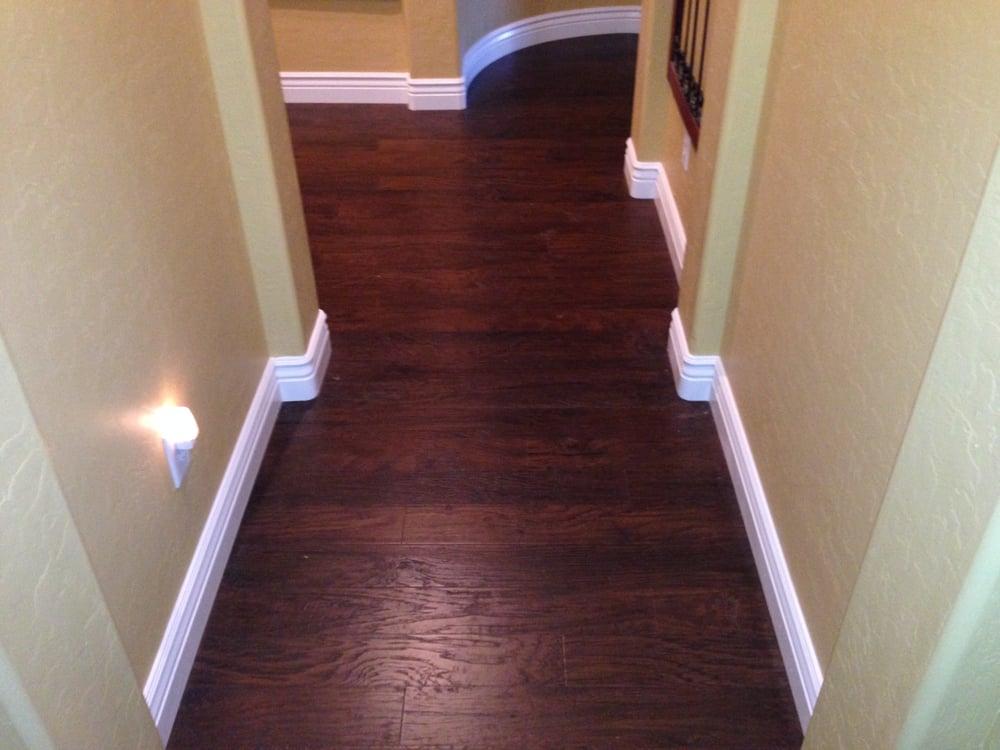 Mohawk barrington bourbon hickory yelp for Expert flooring solutions
