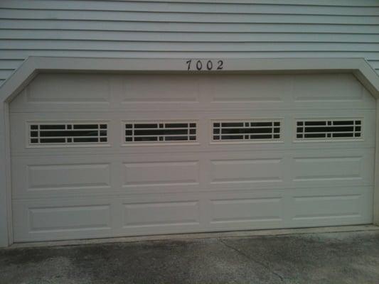Amarr Stratford 3000 Door With Prairie Windows Yelp