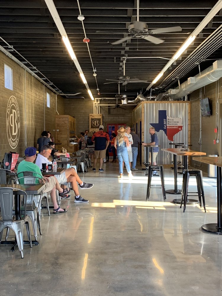 Pour Brothers Brewery: 585 Wall St, Beaumont, TX