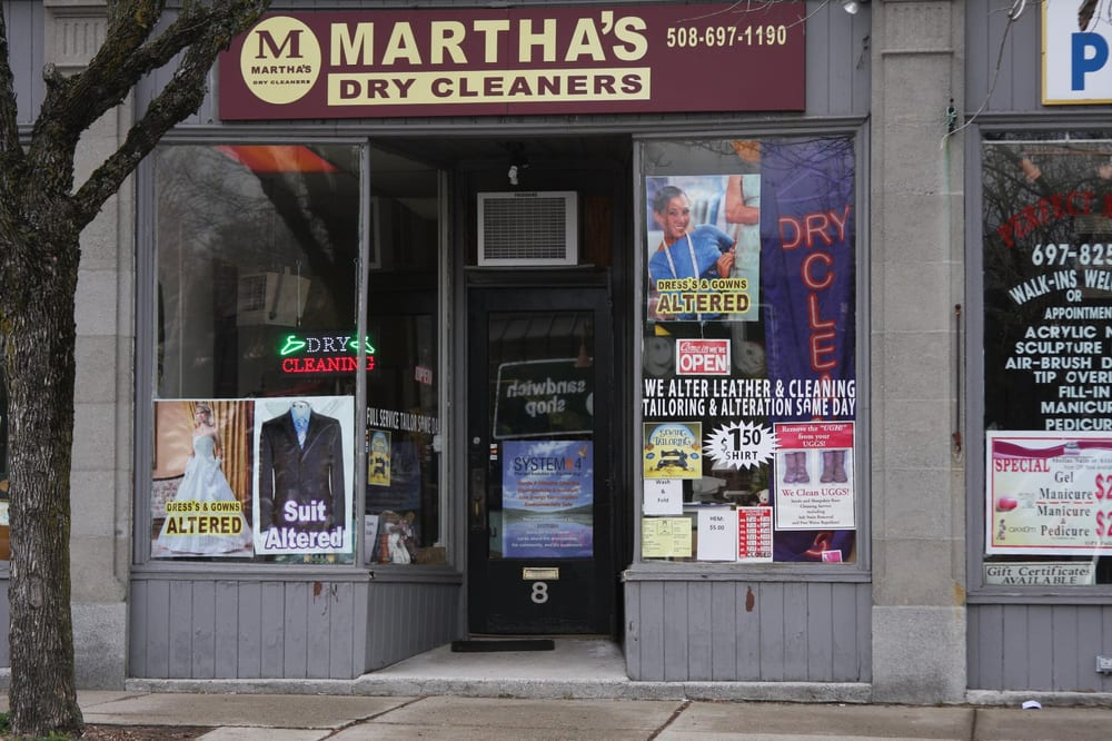 Martha's Dry Cleaners: 8 Broad St, Bridgewater, MA