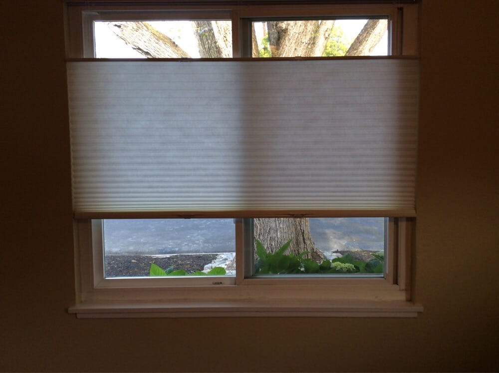 New Cellular Shades That Open From The Top And Bottom