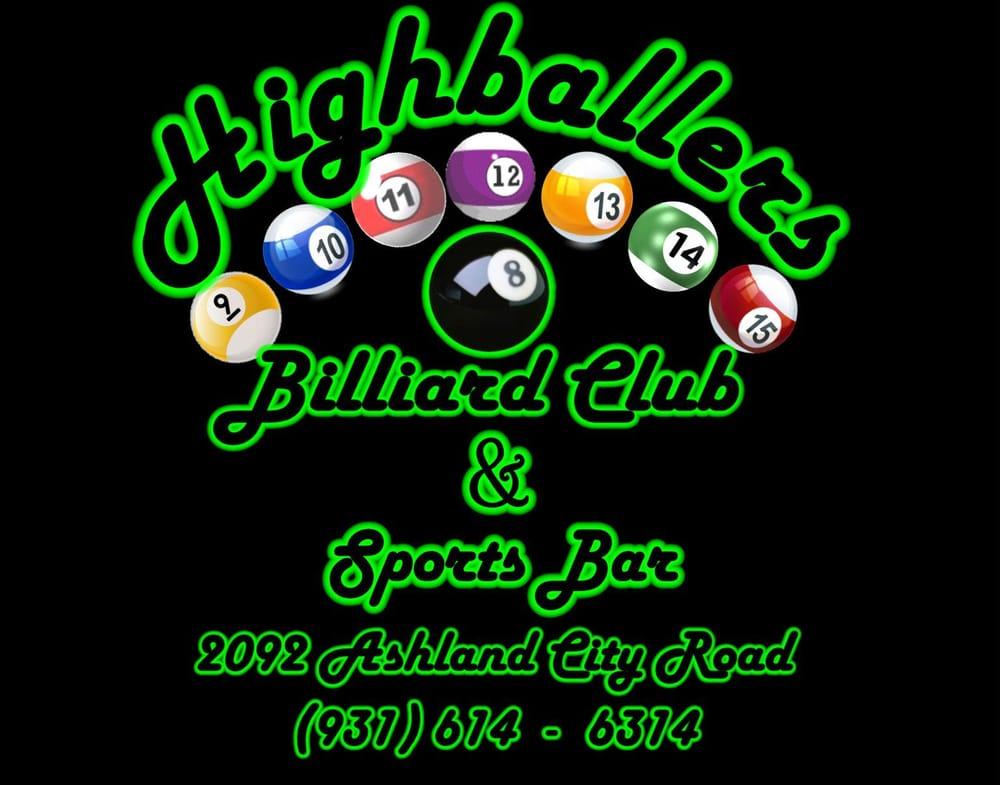 Highballers Billiard Club & Sports Bar: 2092 Ashland City Rd, Clarksville, TN