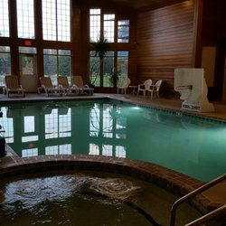 Photo Of Scandinavian Lodge Sister Bay Wi United States Indoor Pool And