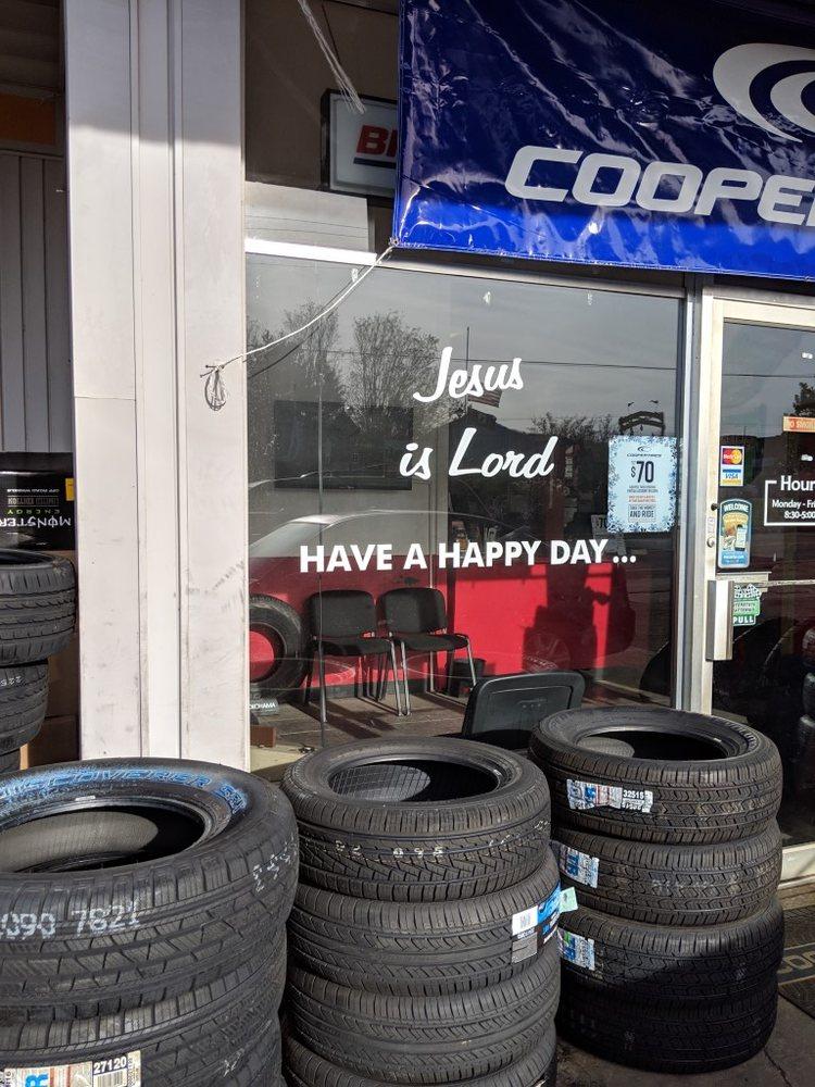 Eller's Tire & Service: 28 N Main St, Hiawassee, GA