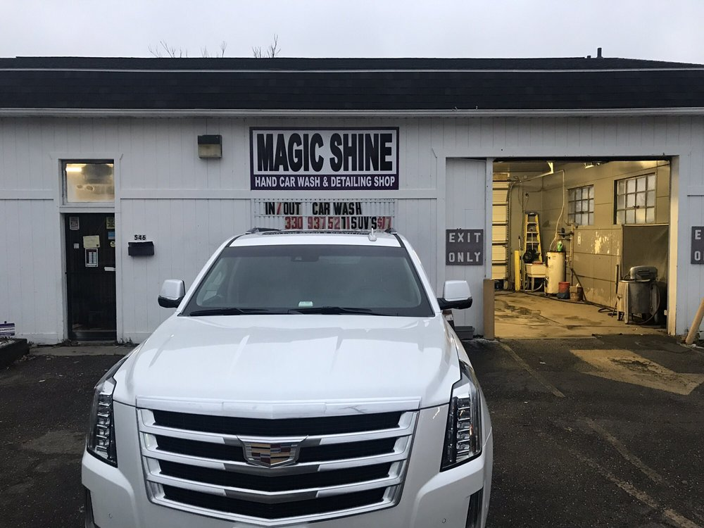 Magic Shine Hand Car Wash and Detail: 546 Snyder Ave, Barberton, OH