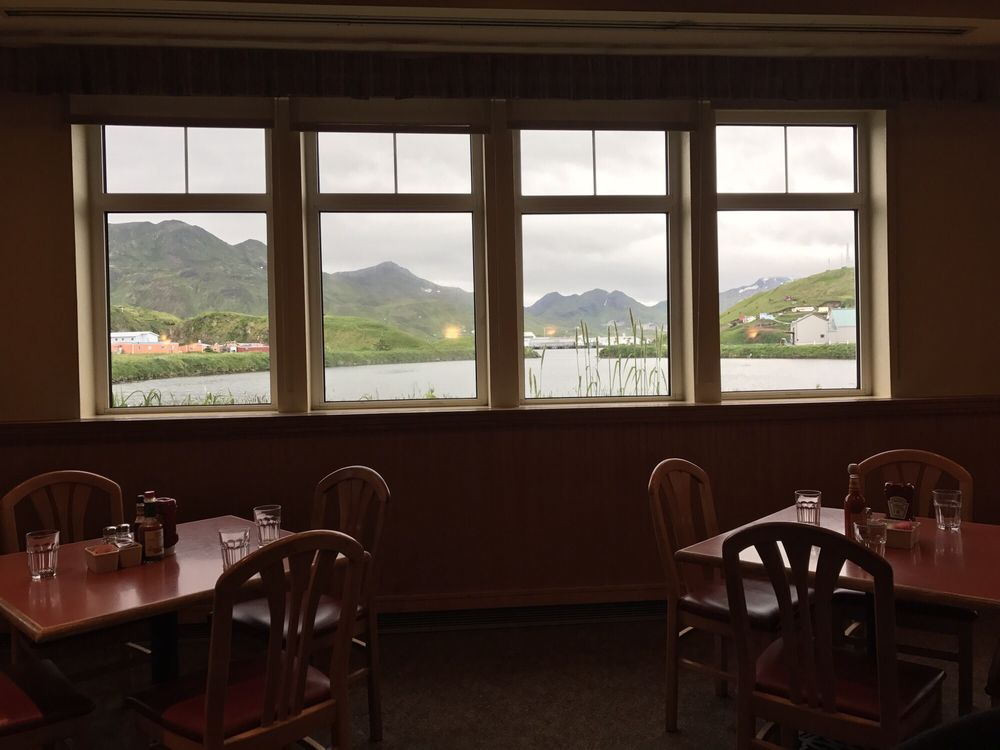 Margaret Bay Cafe: 498 Salmon Way, Unalaska, AK