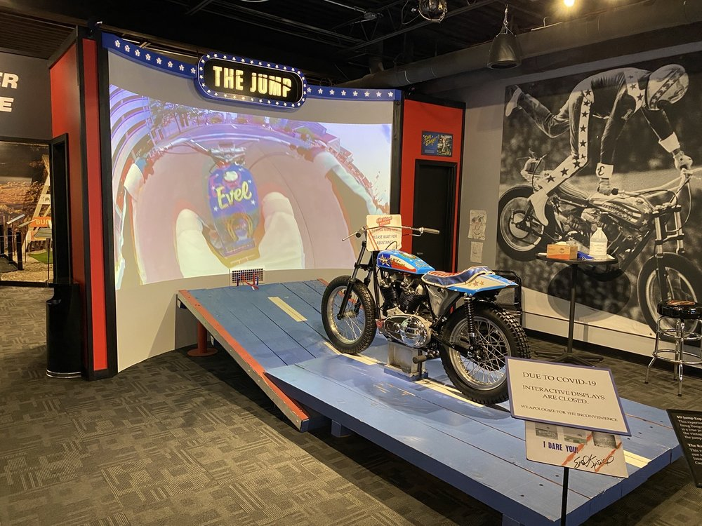 Social Spots from Evel Knievel Museum