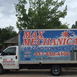 Photo Of Max Mechanical Air Conditioning Heating Arlington Tx United States