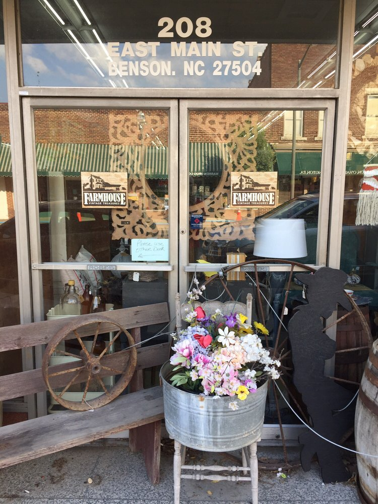 Farmhouse Vintage Treasures: 208 E Main St, Benson, NC