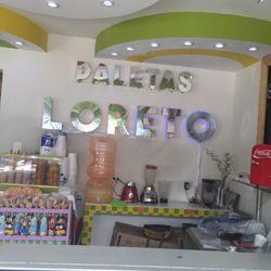 Paleteria Loreto Helados Y Yogurt Helado Av 25 Oriente 216 El