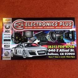 Electronics Plus Car Stereo Installation 646 E Alisal St