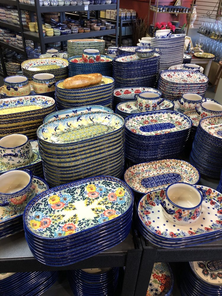 The Polish Pottery Outlet: 1800 W Oxford Ave, Englewood, CO
