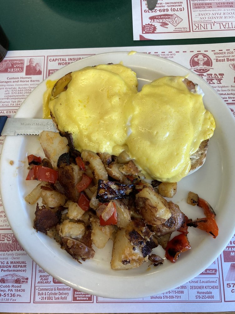 Country Cafe: 875 Daleville Hwy, Moscow, PA