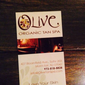 Olive Organic Tan Spa Montclair Nj