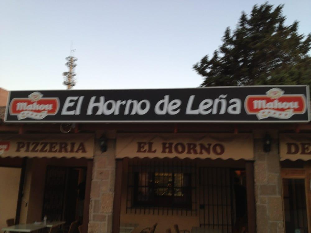 El horno de le a pizza avenida fuenterrab a s n - El horno de yeles ...
