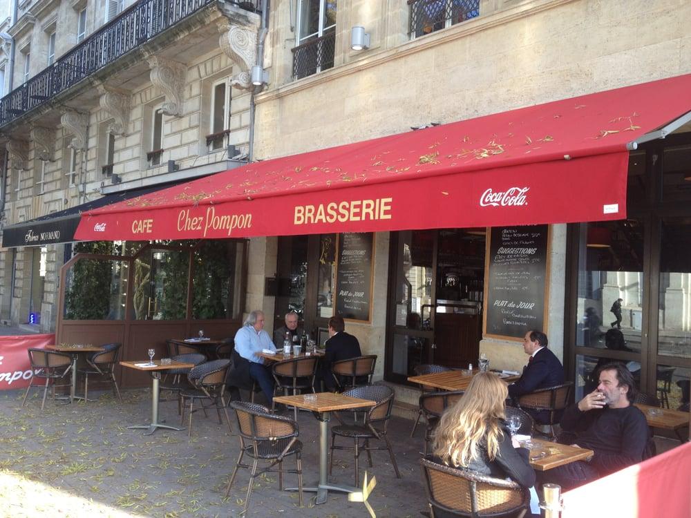 Chez pompon 18 reviews brasserie 4 cours de verdun - Chez pompon bordeaux ...