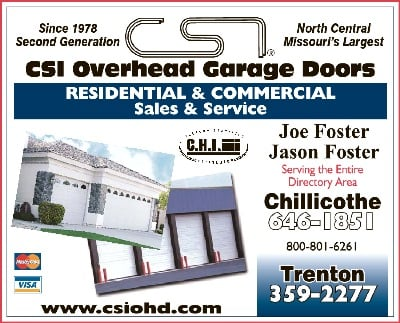 Csi Overhead Garage Doors: 108 W 10th St, Trenton, MO