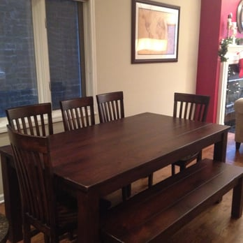 Nice Photo Of Rustic Elements Furniture   Joliet, IL, United States. Our Kitchen  Table