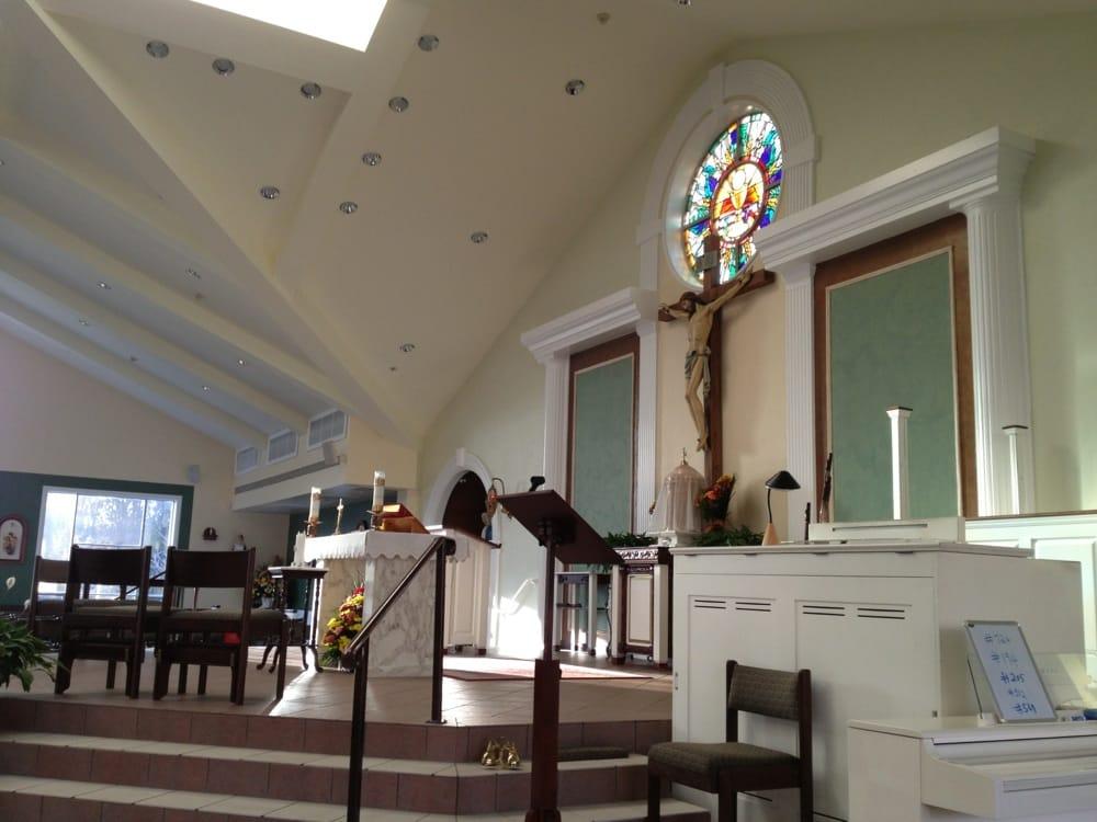 St Jude's Roman Catholic Church: 89 Overlook Dr, Mastic Beach, NY