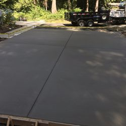 Olympia Concrete Design Landscaping
